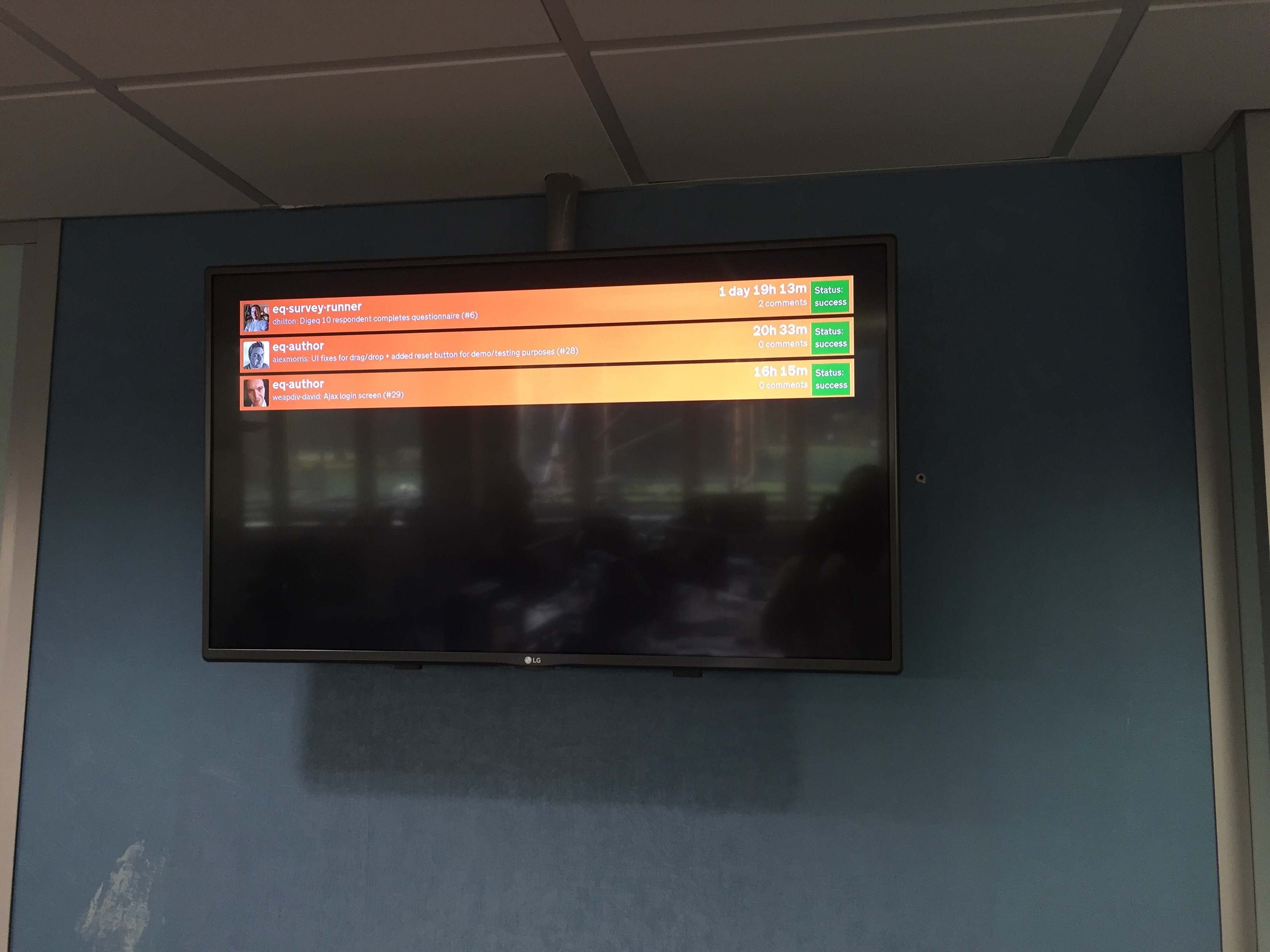 Photo of eQ Alpha Dashboard TV